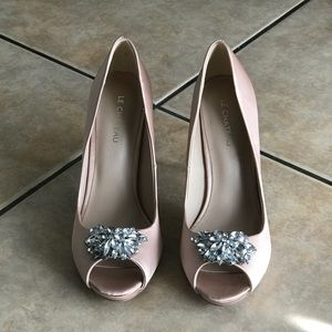 Fiori And Spine Shoes Pink Lace Heels Poshmark